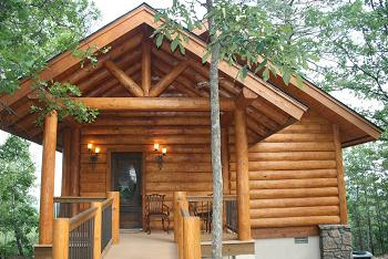 ...Luxury Log Cabin Getaway awaits you
