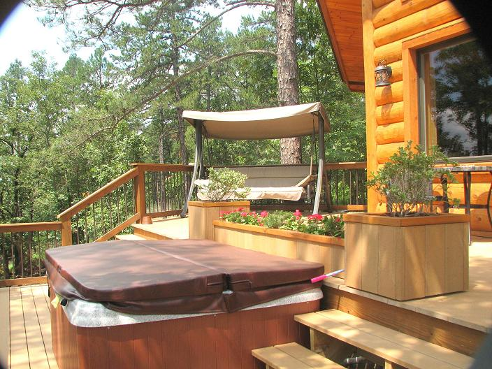 An enchanting evening private honeymoon cabin getaway in for Honeymoon cabins in arkansas